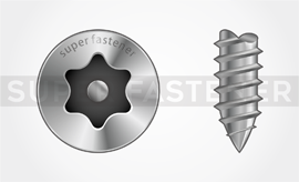 6-Lobe Pin /Torx Pin